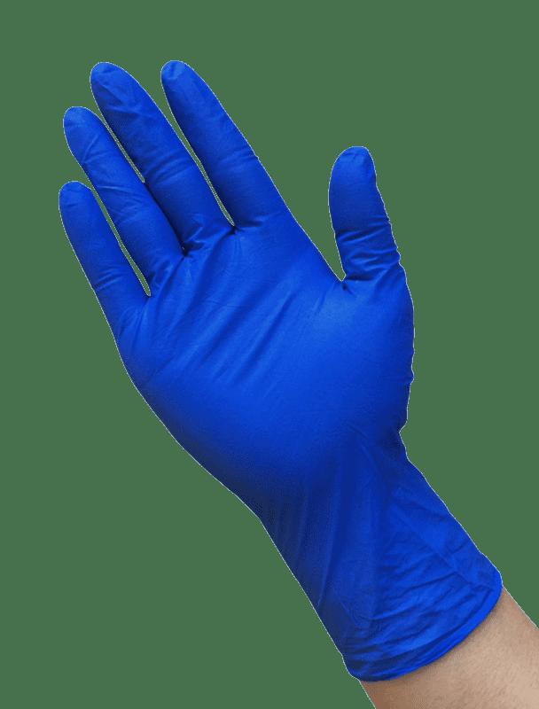 Dark Blue Disposable Nitrile Gloves